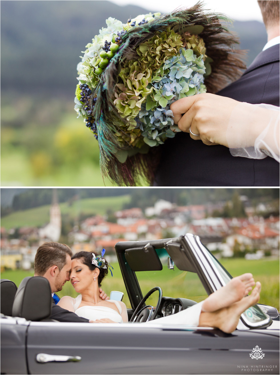 Peacock themed wedding | Maria & Toni | Congresspark Igls, Tyrol - Blog of Nina Hintringer Photography - Wedding Photography, Wedding Reportage and Destination Weddings