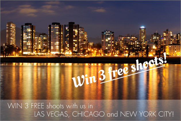BLACK FRIDAY SPECIAL: Win 3 FREE shoots with us in LAS VEGAS, CHICAGO and NEW YORK CITY! - Blog of Nina Hintringer Photography - Wedding Photography, Wedding Reportage and Destination Weddings