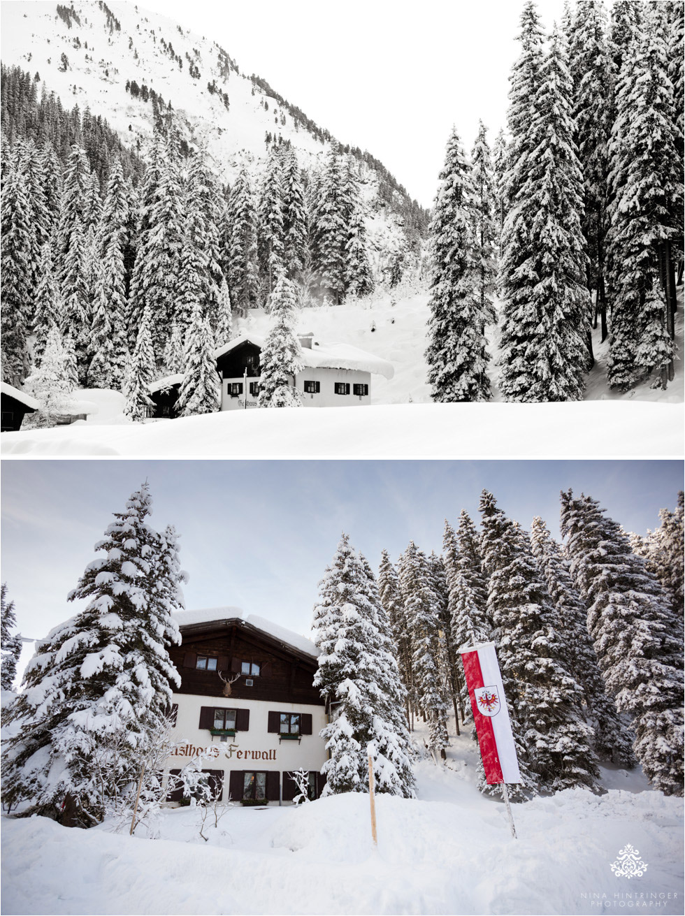 winter wonderland at the restaurant Ferwall near st. anton at the arlberg - Blog of Nina Hintringer Photography - Wedding Photography, Wedding Reportage and Destination Weddings