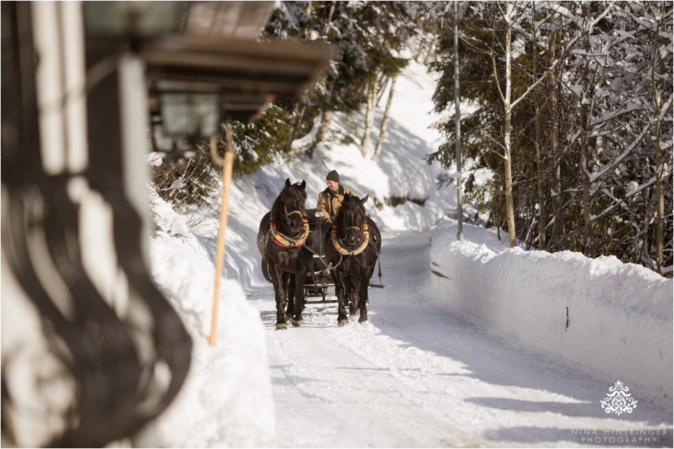 sleigh ride in st. anton am arlberg - Blog of Nina Hintringer Photography - Wedding Photography, Wedding Reportage and Destination Weddings