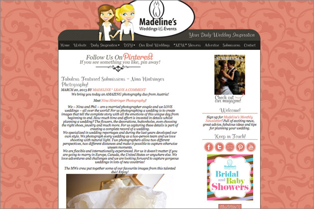View all posts of Madelines Weddings