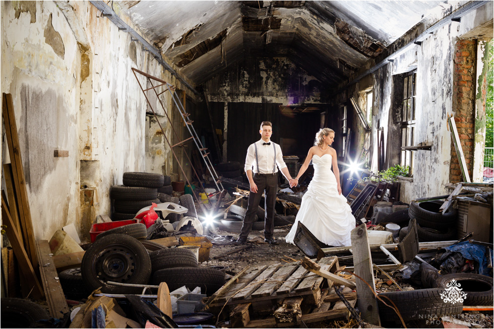 After Wedding and Trash the Dress Shoot | Sandra & Florian - Blog of Nina Hintringer Photography - Wedding Photography, Wedding Reportage and Destination Weddings
