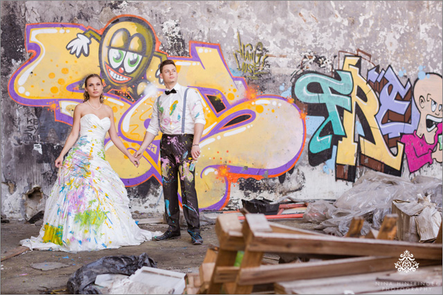 After Wedding and Trash the Dress Shoot | Sandra & Florian - Blog of Nina Hintringer Photography - Wedding Photography, Wedding Reportage and Destination Weddings