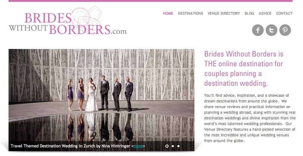 Featured on Brides Without Borders | Australian Wedding Blog  - Blog of Nina Hintringer Photography - Wedding Photography, Wedding Reportage and Destination Weddings