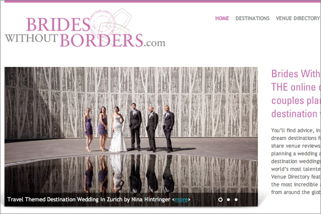 Featured on Brides Without Borders | Australian Wedding Blog  - Blog of Nina Hintringer Photography - Wedding Photography, Wedding Reportage and Destination Weddings