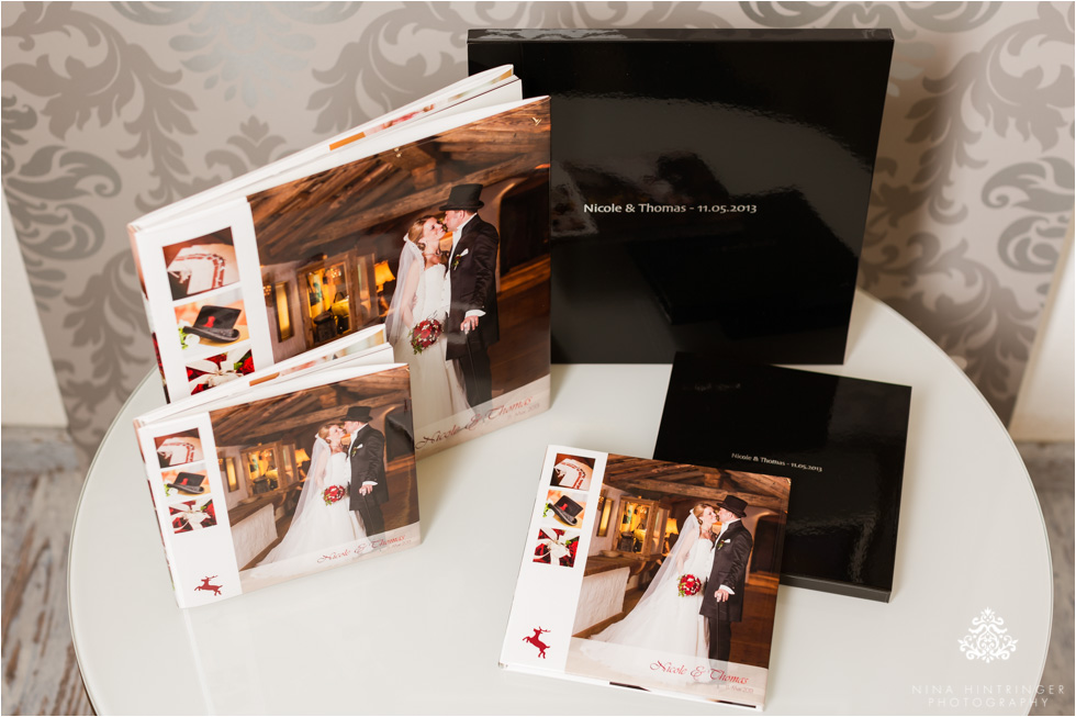 Smaller parent books as a copy are also available - Blog of Nina Hintringer Photography - Wedding Photography, Wedding Reportage and Destination Weddings