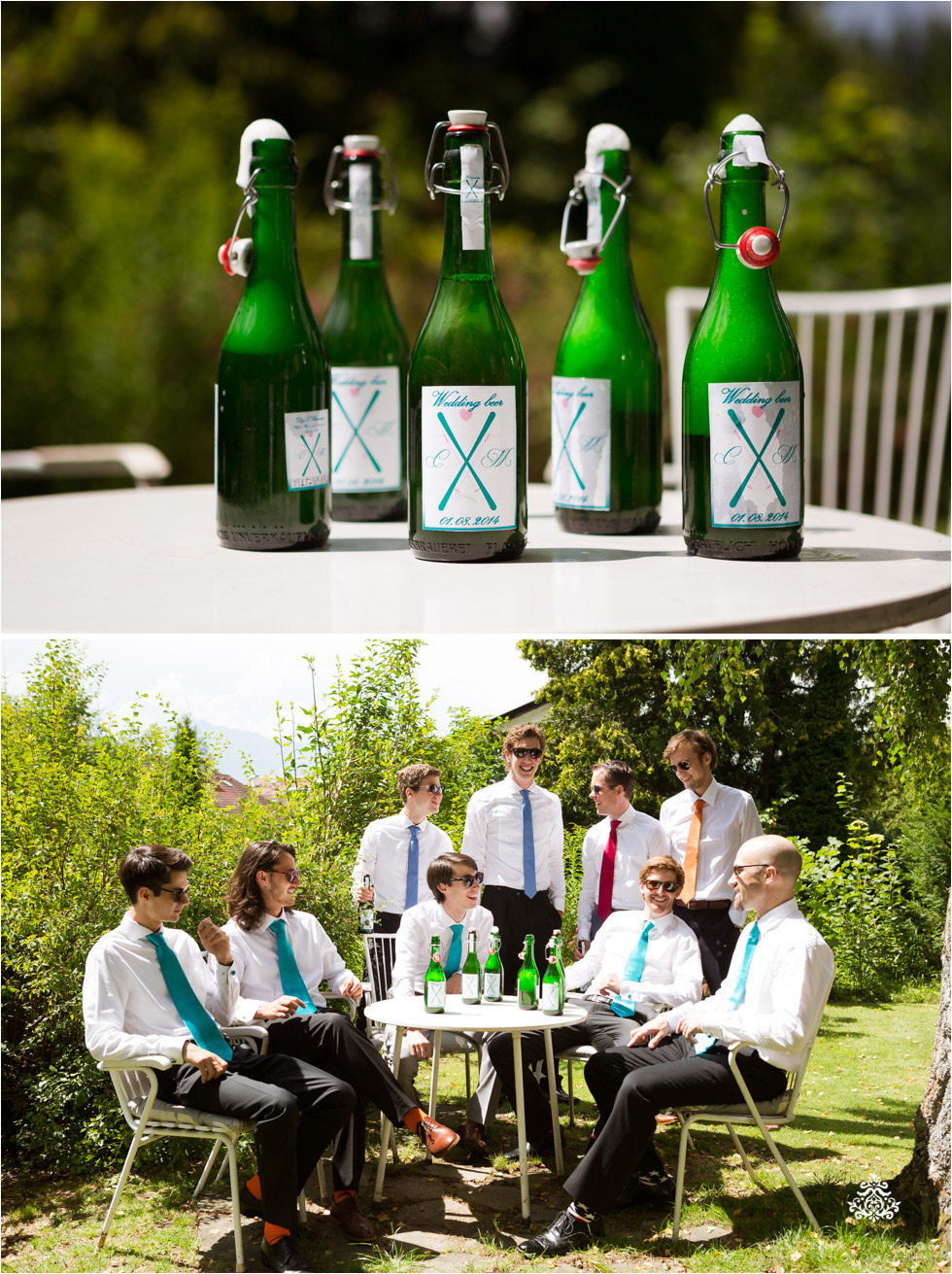 Ski-Inspired Summer Wedding | Cat & Menno and their Tiffany Blue Color Theme - Blog of Nina Hintringer Photography - Wedding Photography, Wedding Reportage and Destination Weddings