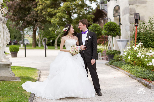 International Outdoor Wedding at Schloss Prielau | China meets Austria