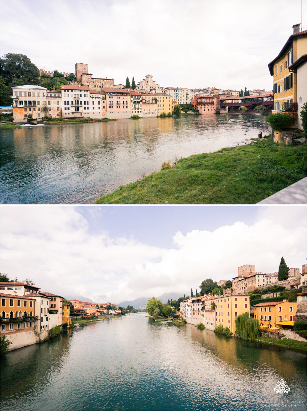 View of Ponte Vecchio in Bassano del Grappa in Italy - Blog of Nina Hintringer Photography - Wedding Photography, Wedding Reportage and Destination Weddings