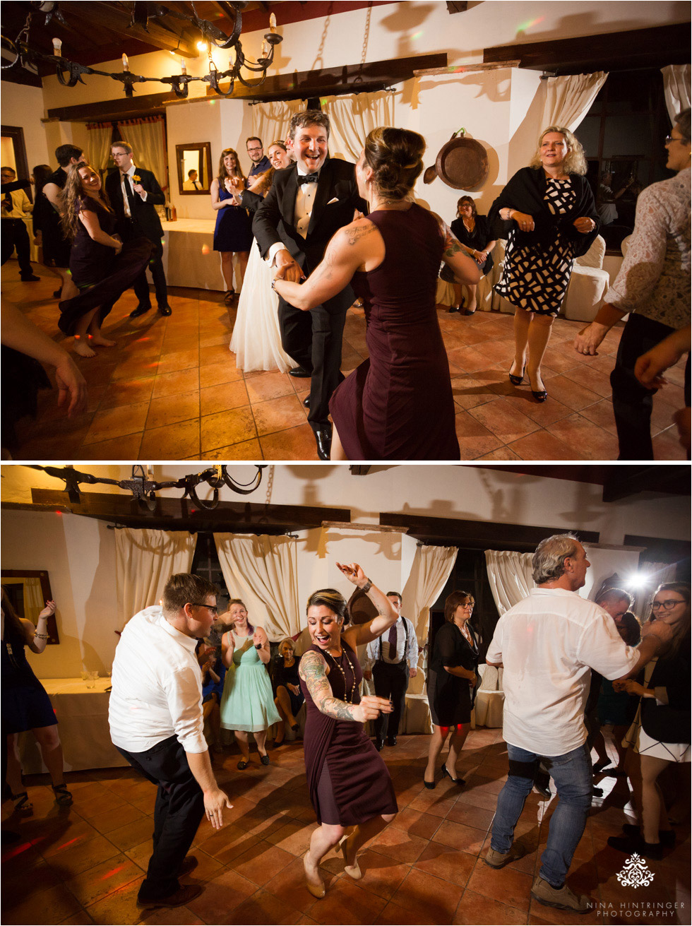 Dancing time at Villa Damiani in Italy, Bassano del Grappa - Blog of Nina Hintringer Photography - Wedding Photography, Wedding Reportage and Destination Weddings