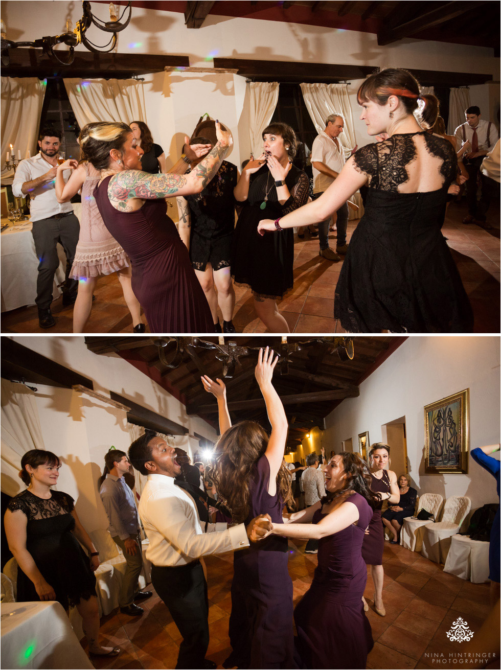 Rocking the dance floor at Villa Damiani in Bassano del Grappa, Italy - Blog of Nina Hintringer Photography - Wedding Photography, Wedding Reportage and Destination Weddings