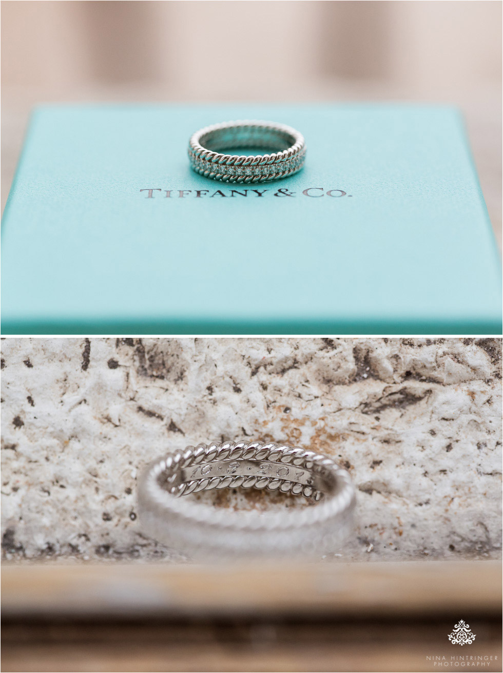 Tiffany wedding rings - Blog of Nina Hintringer Photography - Wedding Photography, Wedding Reportage and Destination Weddings