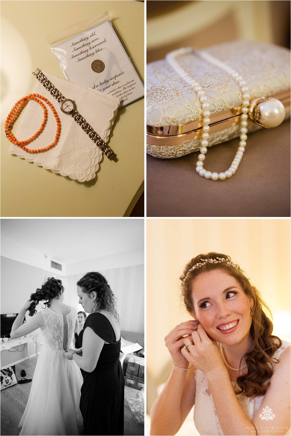 Details of the bride getting ready on her wedding day in Bassano del Grappa, Italy - Blog of Nina Hintringer Photography - Wedding Photography, Wedding Reportage and Destination Weddings