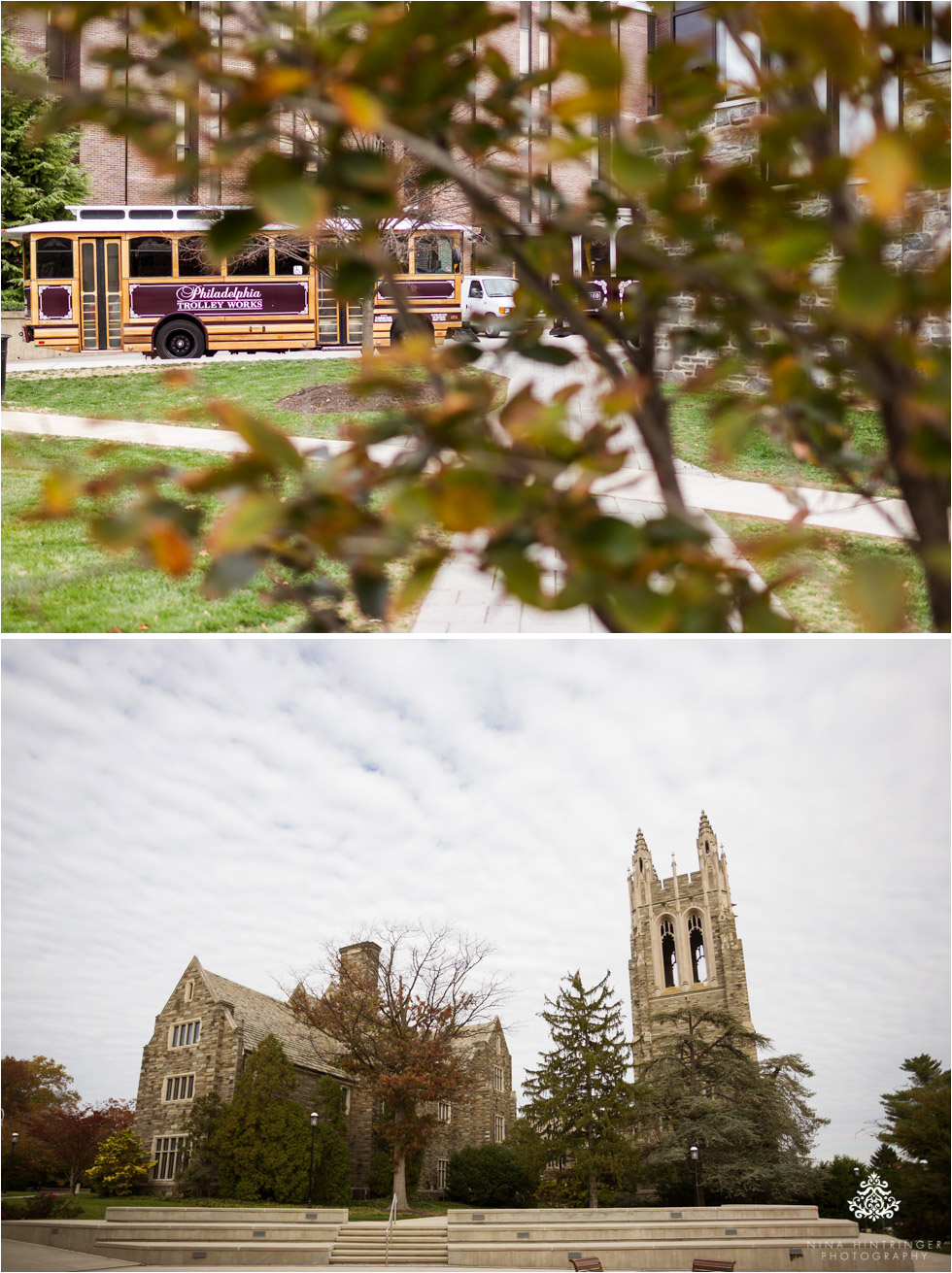Saint Josephs University campus in Philadelphia, Pennsylvania - Blog of Nina Hintringer Photography - Wedding Photography, Wedding Reportage and Destination Weddings
