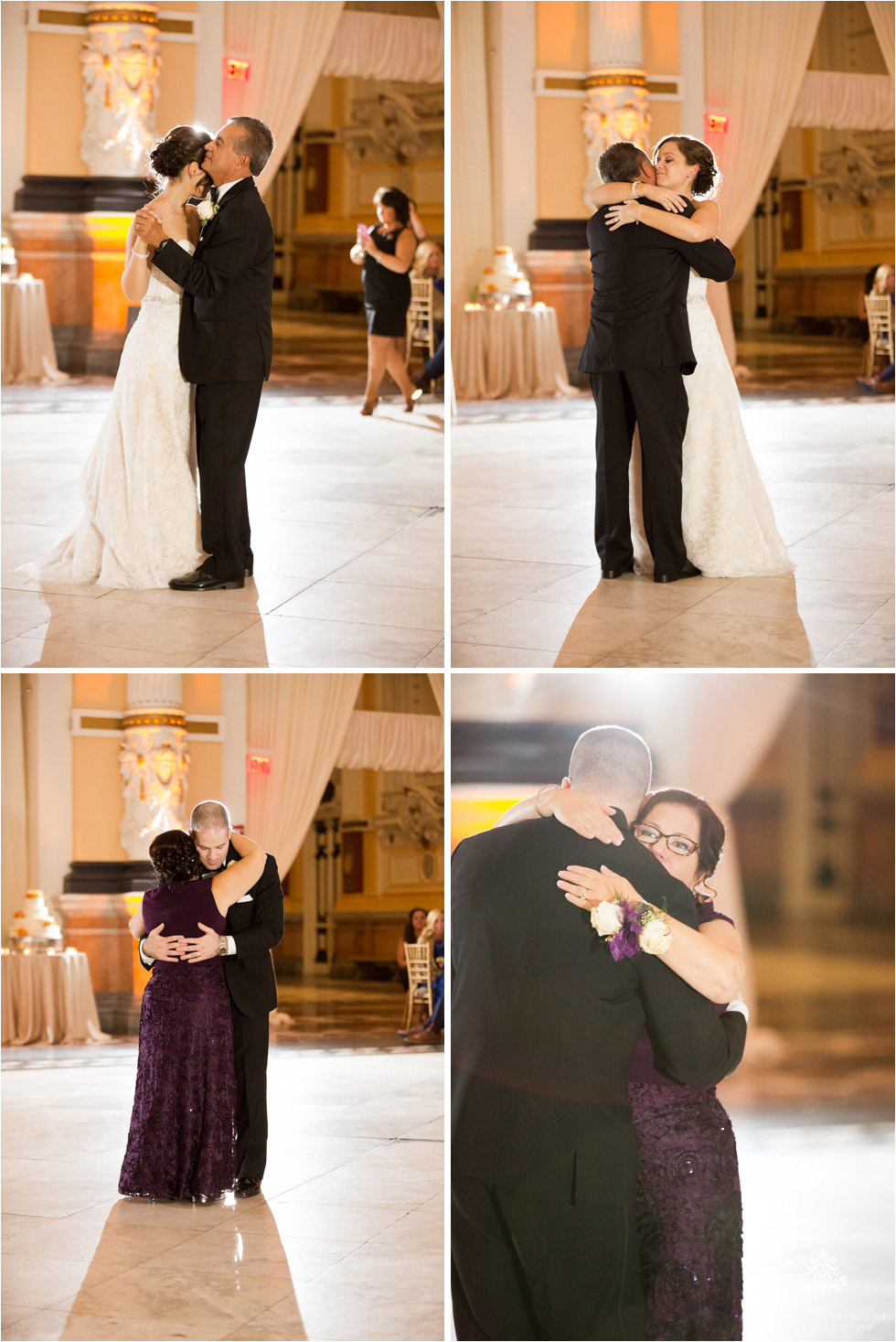 Father-daughter and mother-son dance at Please Touch Museum in Hamilton hall in Philadelphia, Pennsylvania - Blog of Nina Hintringer Photography - Wedding Photography, Wedding Reportage and Destination Weddings