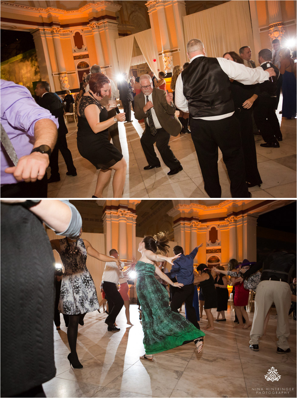 Dancing at Please Touch Museum in Hamilton hall in Philadelphia, Pennsylvania - Blog of Nina Hintringer Photography - Wedding Photography, Wedding Reportage and Destination Weddings