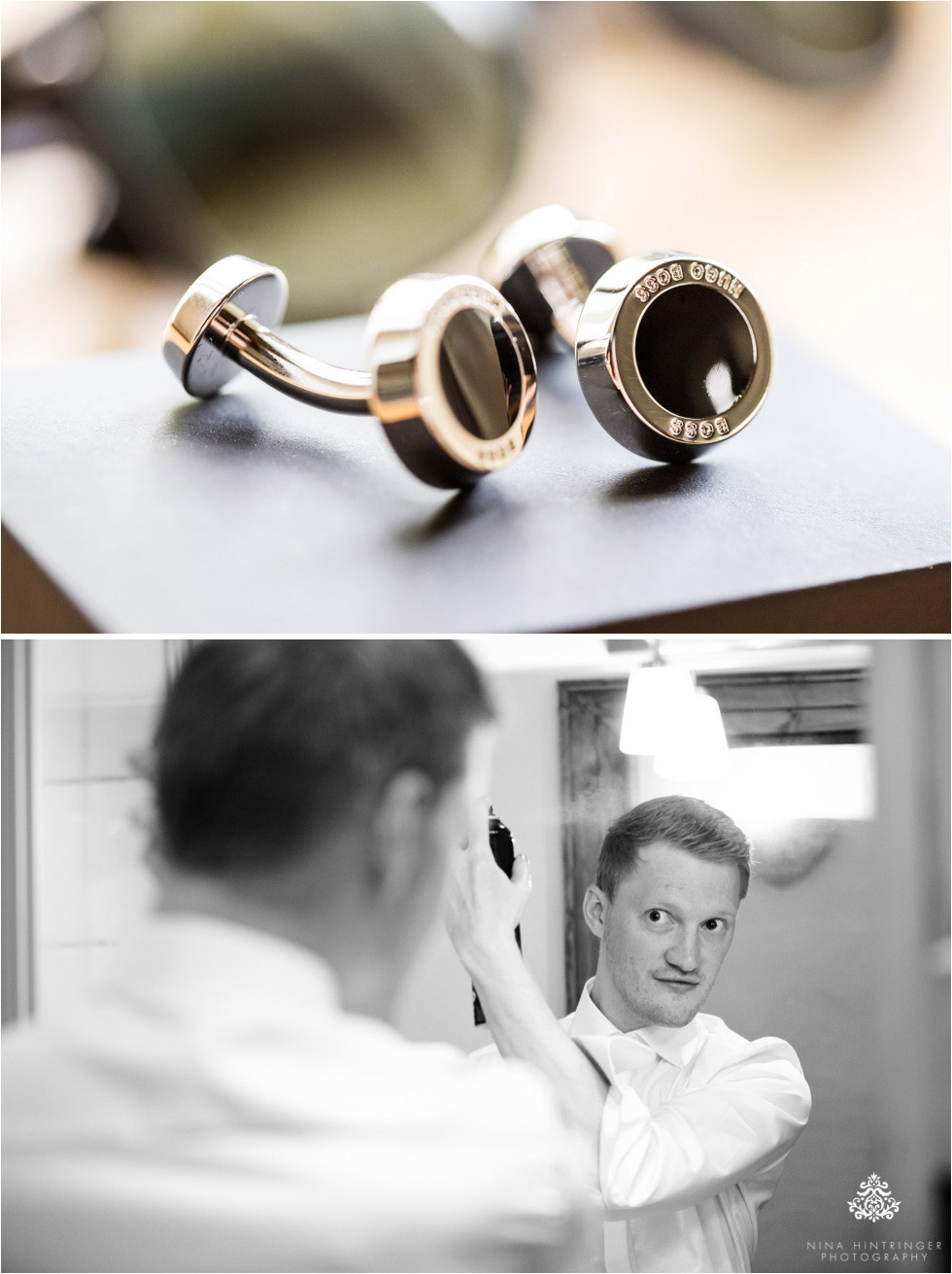 Hofgut Maisenburg Wedding with Gold & Coralline Eye Candy | Melanie & Philipp | Hayingen, Germany - Blog of Nina Hintringer Photography - Wedding Photography, Wedding Reportage and Destination Weddings