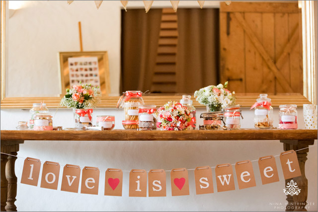 Wedding Inspirations | Candy Bar - Blog of Nina Hintringer Photography - Wedding Photography, Wedding Reportage and Destination Weddings