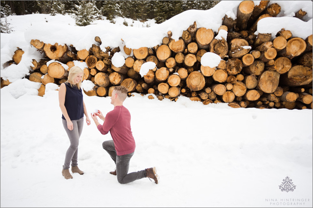 Arlberg Surprise Proposal & Engagement Shoot | Jenny & Alex | St. Anton, Tyrol - Blog of Nina Hintringer Photography - Wedding Photography, Wedding Reportage and Destination Weddings