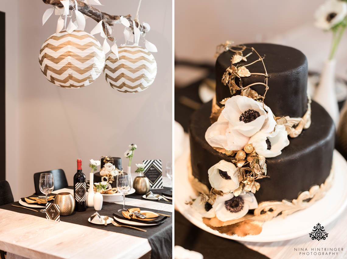 black and gold wedding cake table trendy black white and gold wedding stationery wedding 11814