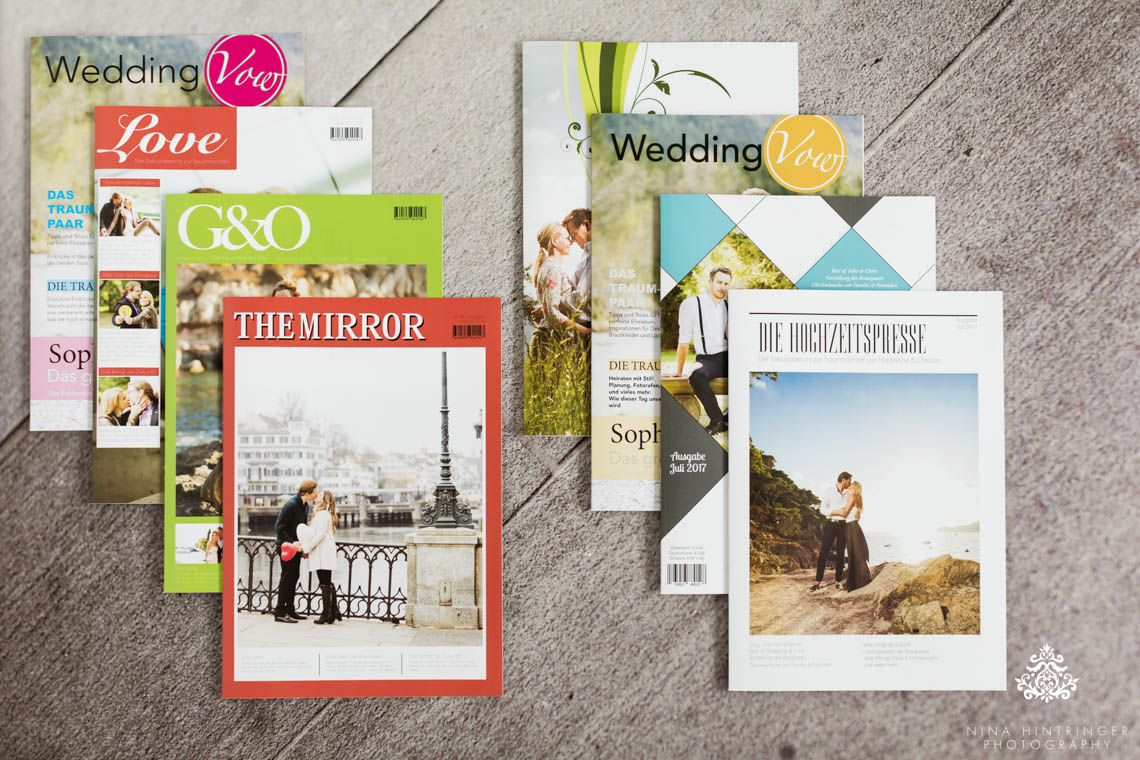 How to design the perfect Wedding Newspaper by Nina Hintringer