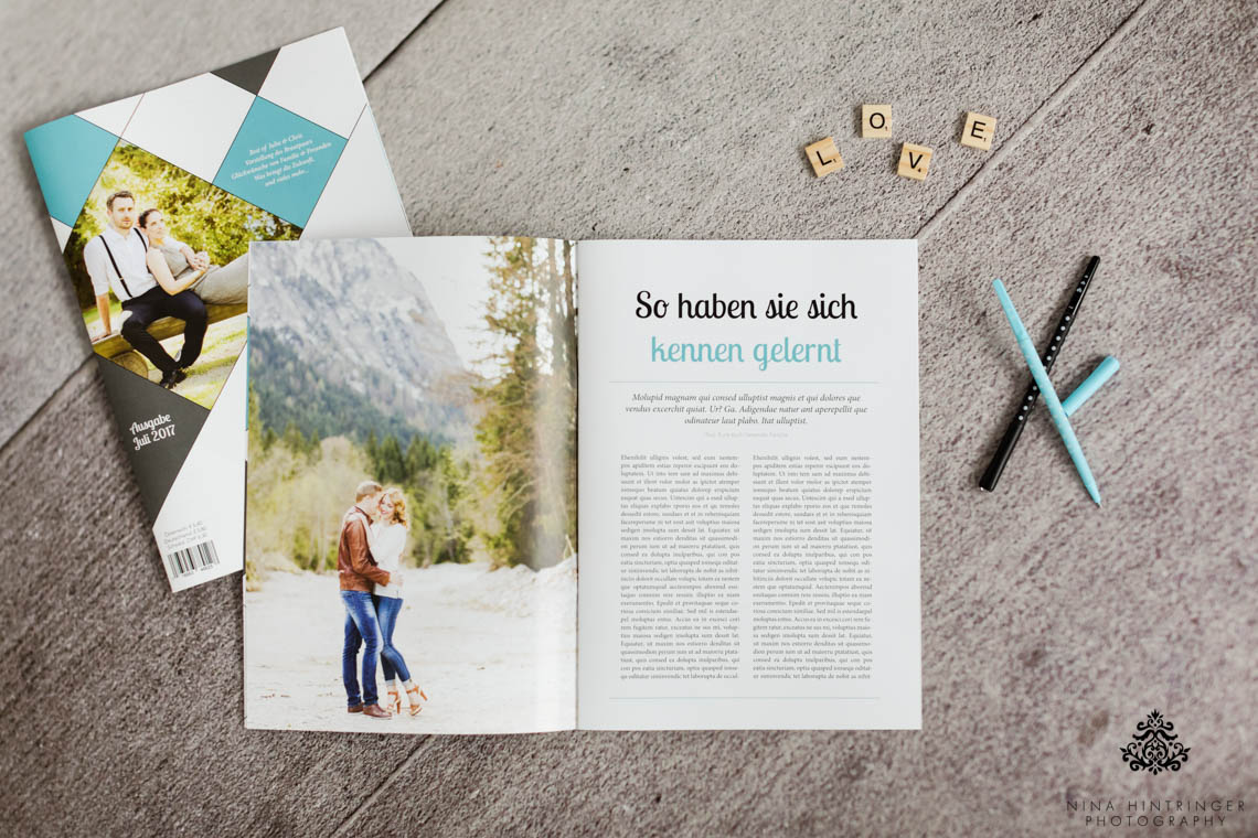 How to design the perfect Wedding Newspaper - Blog of Nina Hintringer Photography - Wedding Photography, Wedding Reportage and Destination Weddings